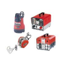 水中ポンプ、電圧変換器、ウィンチ、エンジンスタータ